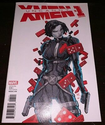 Uncanny X-Men Annual #1 NM Domino Variant Lashley