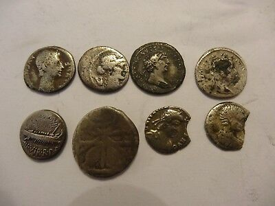 Roman Silver Coins Collection incl. Roman Republic Denarius