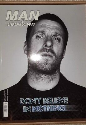 Sleaford Mods. Jason Williamson 2015 Man About Town Front Page