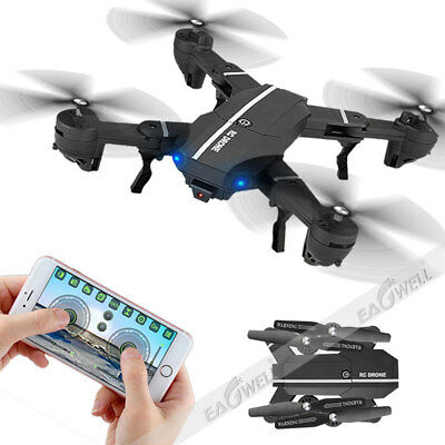 8807W WIFI FPV Foldable Arm Selfie Drone HD Camera 6Axis 2.4G 4CH RC Quadcopter