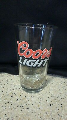Coors Light New York Jets 16 oz Pint Glass - Beer Glasses - pre owned