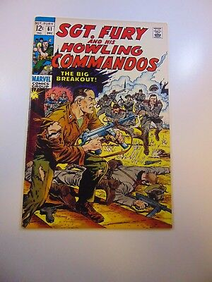 Sgt. Fury and His Howling Commandos #61 VF- condition