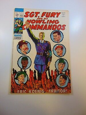 Sgt. Fury and His Howling Commandos #65 FN/VF condition