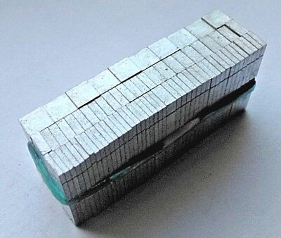 12 point Letterpress Metal Printing Type SPACES / SPACERS 5 various thicknesses