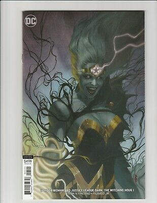 Wonder Woman & Justice League Dark: Witching Hour #1 (2018 DC) Federici Variant