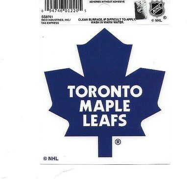 Toronto Maple Leafs Logo 3X4 Small Static Decal Rico Sticker Decal