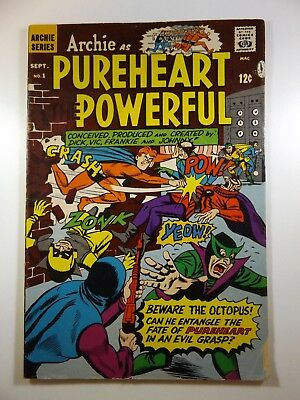 Archie as Pureheart Powerful #1 Solid VG Condition!!