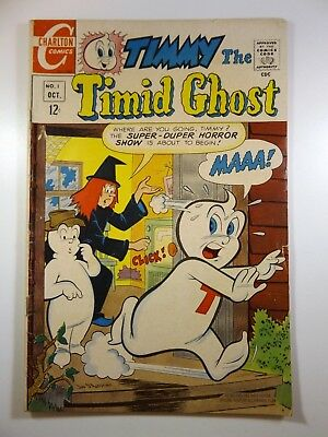 Timmy The Timid Ghost #1 Solid VG-/VG Condition!!
