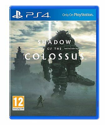Shadow of the Colossus Playstation 4 PS4 NEW SEALED Free UK p&p UK Seller