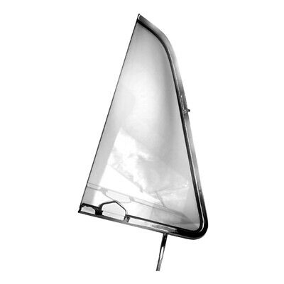51 - 54 Chevy Pickup Truck Vent Window - Clear Glass / Right / Passenger Side
