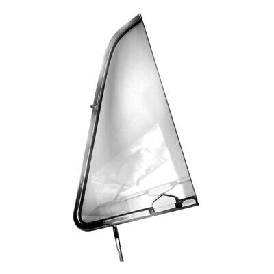 51 - 54 Chevy Pickup Truck Vent Window - Clear Glass / Left / Driver Side