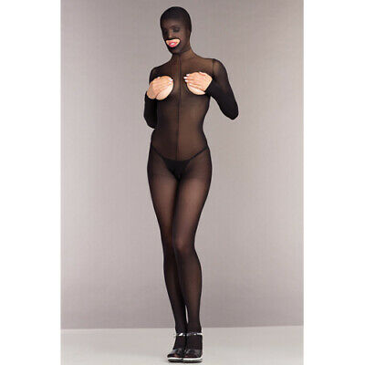 Be Wicked Ouvert Catsuit ohne Cups mit Kapuze Catsuits