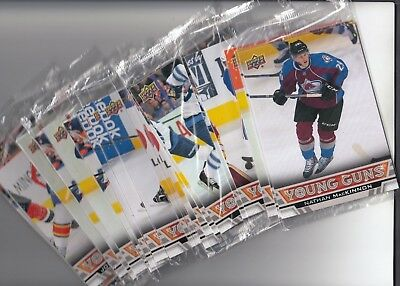 2013-14 Upper Deck Young Guns Oversized Complete Your Set U-Pick