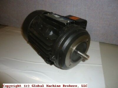 "BROOK CROMPTON AC MOTORS 1/2 HP 230/460 V 1100 RPM 1.25"" Diameter shaft"