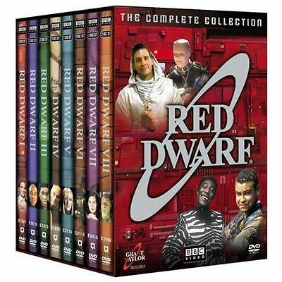 Red Dwarf The Complete Collection(DVD,18-Disc Set,Series 1-8)NEW BBC