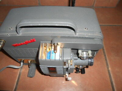 Vintage Mansfield Ultra Zoom 8mm Projector CLEAN TESTED AND WORKING NICE
