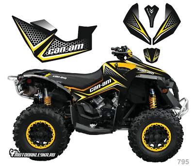 795 GRAPHICS BRP Can-am Renegade decals kit 2006 -2018