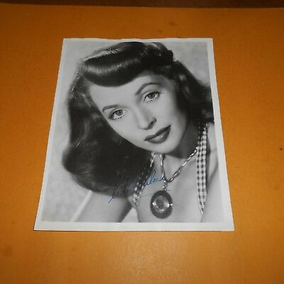 Lilli Palmer was a German actress and writer Hand Signed 8 x 10 Vintage Photo