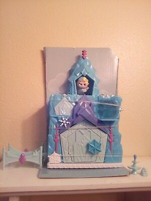 DISNEY DOORABLES Frozen ELSA'S ICE RINK Playset & Exclusive Figure