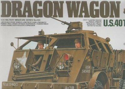 Tamiya 1:35 Dragon Wagon Vs Famo Us Transporter Construction Kit Ovp