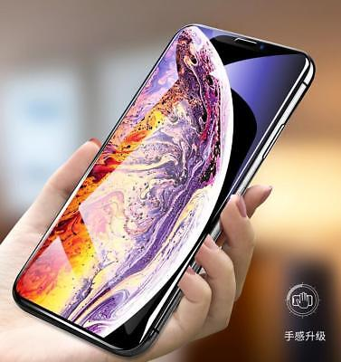 For iPhone Xs Max XR 2018 5D Curved Tempered Glass Screen Protector Guard