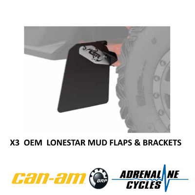 Can Am Maverick X3 mudflap mud flaps kit OEM NEW #715004865