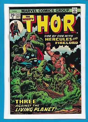 Mighty Thor #227_Sept 1974_Very Fine/near Mint_Hercules_Firelord_Bronze Age!