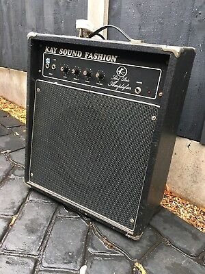 House Clearance Attic Find Rare Kay Sound Fashion Guitar Amplifier Vintage Amp