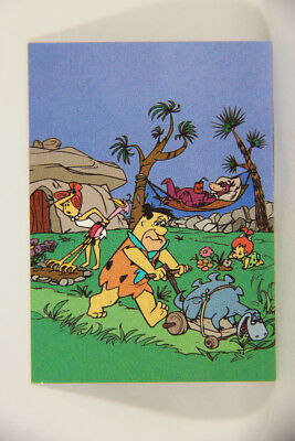 L006787 The Return Of The Flintstones 1994 TEKCHROME INSERT Card #T1