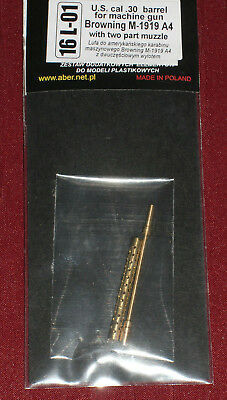 Aber: gedrehtes Messing-Rohr f. .30cal US MG, Maßstab 1/16; Top!!! Ansehen!!!