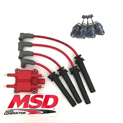 MSD High Output Coilpack & Super Conductor Plug Wires for 02-06 MINI Cooper S