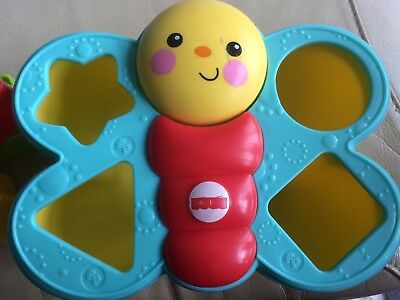 Childs Butterfly Shape Sorting Learning Toy