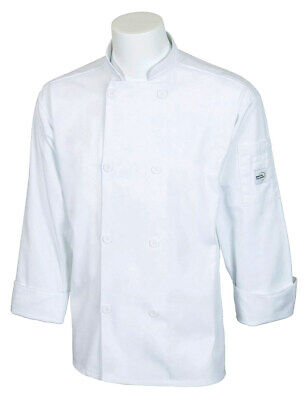 Mercer Millennia Cutlery Unisex White Chef Coat | 4XL