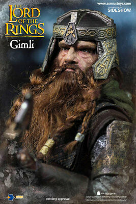 The Lord Of The Rings Gimli 1:6Th Scale Figure Asmus Collectible Toys