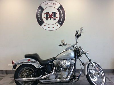 2001 FXST -- 2001  Harley Davidson  FXST  25,639 Miles  Chicago Cycles and Motorsports