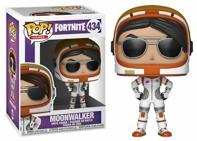 "New Funko Pop! Games 434 Fortnite Moonwalker 3.75"" Vinyl Figure Video Game Skin"