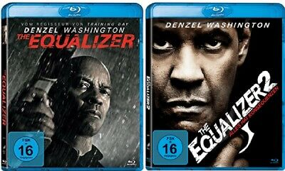 The Equalizer 1-2 Blu-ray Set Neu Originalverpackt Teil 1+2 Denzel Washington