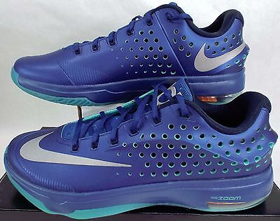 online store 4964c 9ad4e New Mens 13 NIKE KD VII Gym Blue Basketball Shoes  200 724349-404