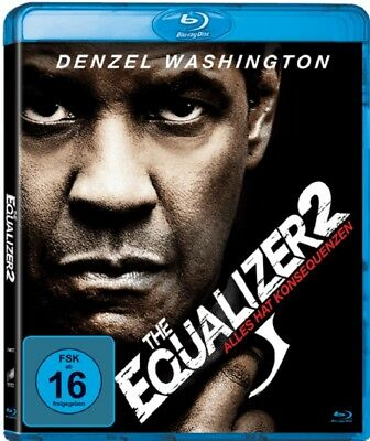 The Equalizer 2 Blu-ray Neu und Originalverpackt Teil 2 Denzel Washington