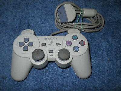 Sony Playstation Controller SCPH-110 tested working rumble PS1 DualShock Analog