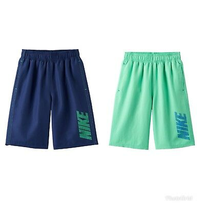 NWT Boy's Nike Swim Logo Swim Trunks Medium