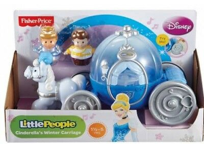 Fisher Price Little People Disney Princess Cinderella's Coach. New In Box!