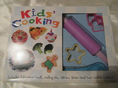 Childrens Cook Book And Accessories Set Ideal For Little Hands In The Kitchen