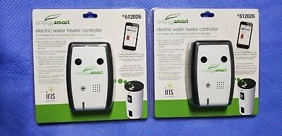 2, pack EnergySmart WiFi Electric Water Heater Controller Iris 612026 NEW SEALED