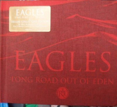 Music Cd~ The Eagles~'long Road Out Of Eden'~ Vgc