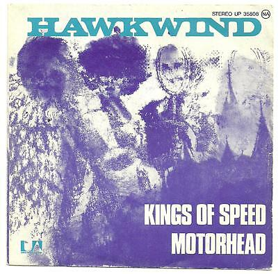 Hawkwind Kings of Speed Original PS single from France.