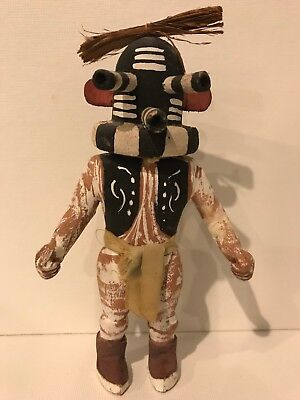 Vintage Katsina Kachina Native American Carved Kokopelli Hopi Doll