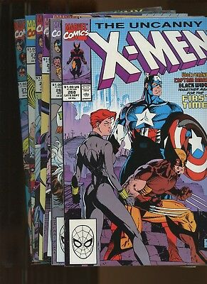 Uncanny X-Men 268-274 *7 Books* 1990-1 Marvel!  X-Tinction Agenda! Wolverine!