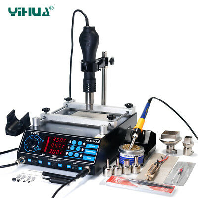 853AAA Infrared Bga Rework Station 60W Tin Soldering Iron Power Functional Air S