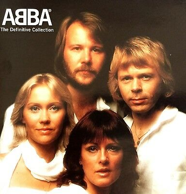 ABBA The Definitive Collection  2CD Set Brand New And Sealed